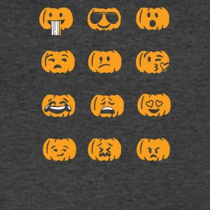 Halloween Emojis Funny - Men's V-Neck T-Shirt by Canvas