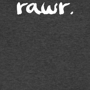 RAWR - Men's V-Neck T-Shirt by Canvas