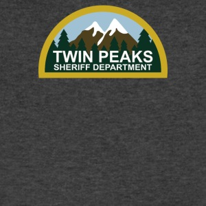 TWIN PEAKS - Men's V-Neck T-Shirt by Canvas