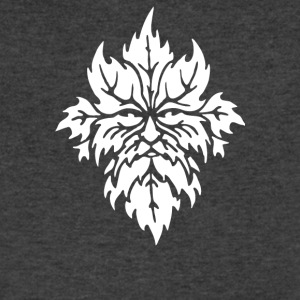 Green Man - Men's V-Neck T-Shirt by Canvas