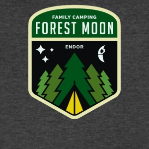 Family Camping Cyber System - Men's V-Neck T-Shirt by Canvas