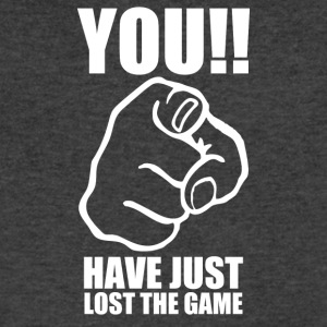 You Have Just Lost The Game - Men's V-Neck T-Shirt by Canvas