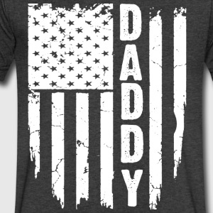 DADDY FLAG - Men's V-Neck T-Shirt by Canvas