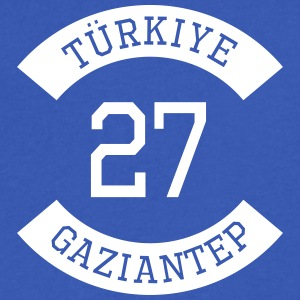 turkiye 27 - Men's V-Neck T-Shirt by Canvas