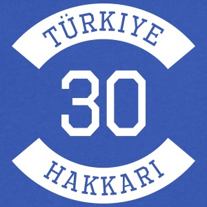 turkiye 30 - Men's V-Neck T-Shirt by Canvas