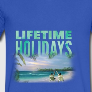 Holiday - Men's V-Neck T-Shirt by Canvas