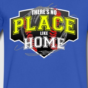 THERE S NO PLACE LIKE HOME - Men's V-Neck T-Shirt by Canvas