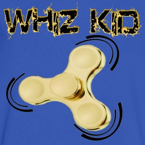 Fidget Spinner Toy - Whiz Kid - Men's V-Neck T-Shirt by Canvas