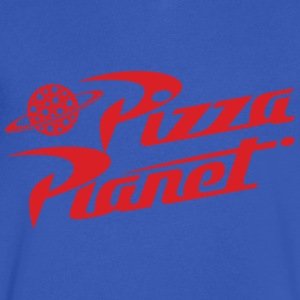 Pizza Planet - Men's V-Neck T-Shirt by Canvas