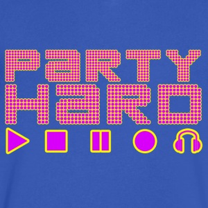 Party Hard - Men's V-Neck T-Shirt by Canvas