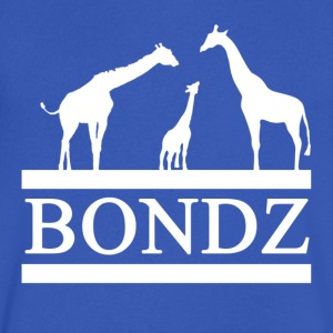 Whit Logo Bondz Shirt - Men's V-Neck T-Shirt by Canvas