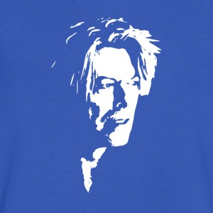 David Bowie - Men's V-Neck T-Shirt by Canvas