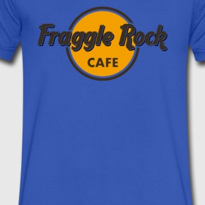 Fraggle cafe - Men's V-Neck T-Shirt by Canvas