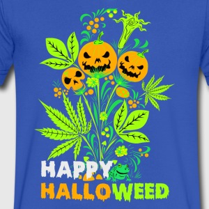Happy Halloweed t-shirt - Men's V-Neck T-Shirt by Canvas