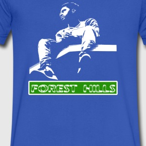 Forest Hills - Men's V-Neck T-Shirt by Canvas