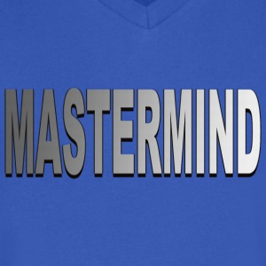 Mastermind - Men's V-Neck T-Shirt by Canvas