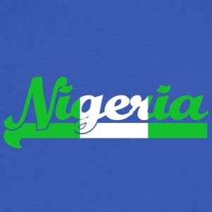 Nigeria - Men's V-Neck T-Shirt by Canvas