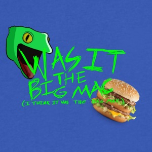 Was It The Big Mac - Men's V-Neck T-Shirt by Canvas