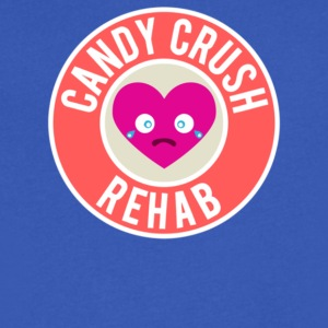 Candy Crush Rehab - Men's V-Neck T-Shirt by Canvas