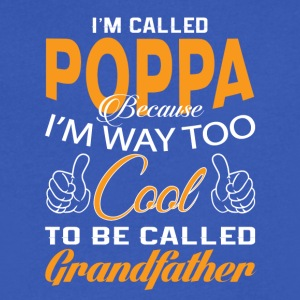I'M CALLED POPPA - Men's V-Neck T-Shirt by Canvas
