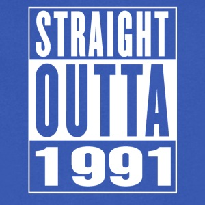 Straight Outa 1991 - Men's V-Neck T-Shirt by Canvas