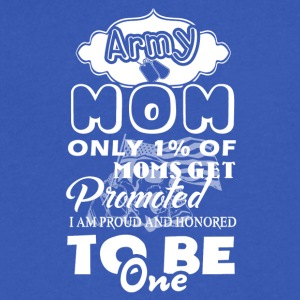 Army Mom Tee - Men's V-Neck T-Shirt by Canvas