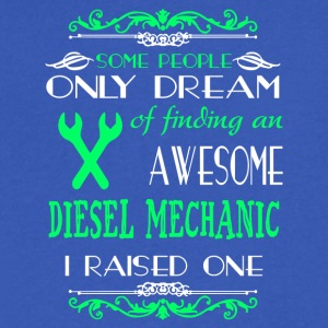 Finding An Awesome Mechanic T Shirt - Men's V-Neck T-Shirt by Canvas