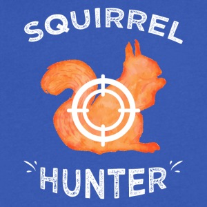 Squirrel hunter - Men's V-Neck T-Shirt by Canvas