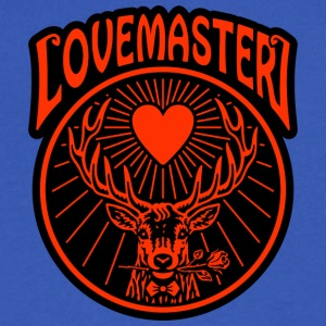 Lovemaster - Black Pearl (2017) - Men's V-Neck T-Shirt by Canvas