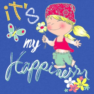 ITS_MY_HAPPINESS - Men's V-Neck T-Shirt by Canvas