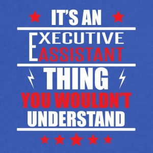 It's An Executive Assistant Thing - Men's V-Neck T-Shirt by Canvas
