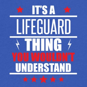 It's A Lifeguard Thing - Men's V-Neck T-Shirt by Canvas