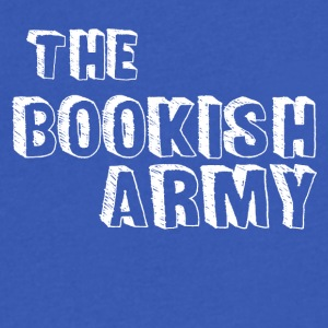 BookishArmy - Men's V-Neck T-Shirt by Canvas