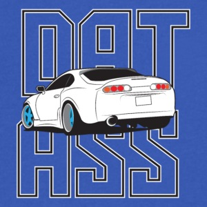 DAT ASS - Men's V-Neck T-Shirt by Canvas