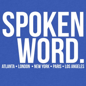 SpokenWord - Men's V-Neck T-Shirt by Canvas