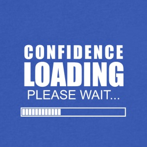 Confidence loading - Men's V-Neck T-Shirt by Canvas
