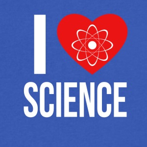 I LOVE SCIENCE - Men's V-Neck T-Shirt by Canvas