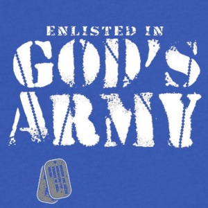Ephesians 6:10-18 - Men's V-Neck T-Shirt by Canvas