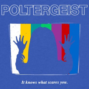 Poltergeist by Andre Moraes - Men's V-Neck T-Shirt by Canvas