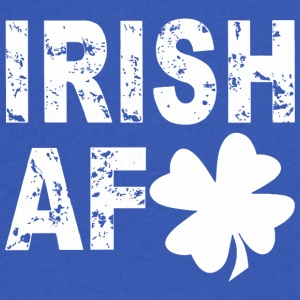 IRISH AF SHIRTS - Men's V-Neck T-Shirt by Canvas