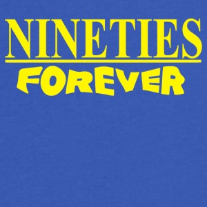 Nineties Forever - Men's V-Neck T-Shirt by Canvas