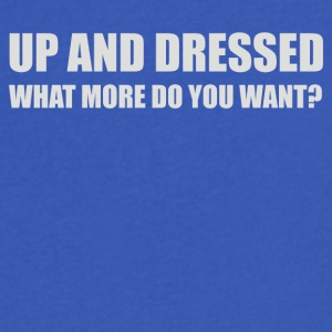 UP AND DRESSED - Men's V-Neck T-Shirt by Canvas