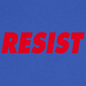 Resist - Men's V-Neck T-Shirt by Canvas