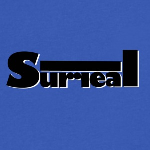 Surreal logo - Men's V-Neck T-Shirt by Canvas