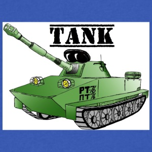 Tank / Tanker PT 76 Tank - Men's V-Neck T-Shirt by Canvas