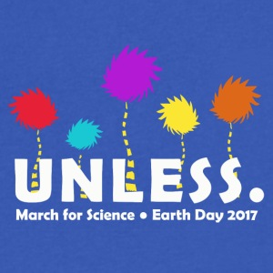 Unless march 2017 Science - Men's V-Neck T-Shirt by Canvas