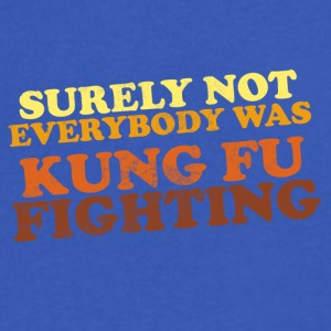 Surely Not Everybody Was Kung Fu Fighting - Men's V-Neck T-Shirt by Canvas