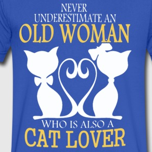 CAT LOVER T-Shirt - Men's V-Neck T-Shirt by Canvas