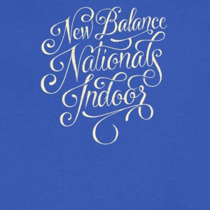 New balance Nationals indoor - Men's V-Neck T-Shirt by Canvas