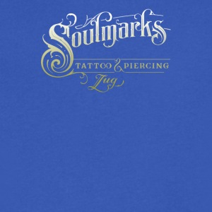 Soulmarks tatto and piercing - Men's V-Neck T-Shirt by Canvas